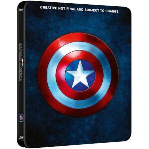 Trilogie Captain America - Steelbook Édition Exclusive Limitée pour Zavvi