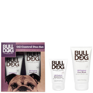 Bulldog Oil Control Duo Set -ihonhoitosetti