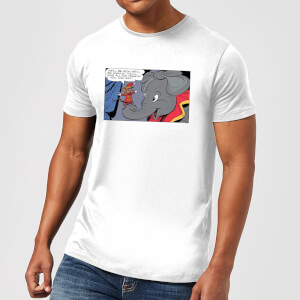 Camiseta Disney Dumbo Rich And Famous - Hombre - Blanco