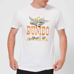 Disney Dumbo The One The Only Men's T-Shirt - White