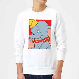 Dumbo Portrait Sweatshirt - White