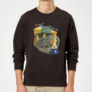 Sweat Homme Cirque Dumbo Disney - Noir