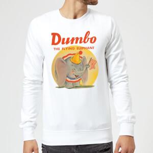 Dumbo Flying Elephant Sweatshirt - White
