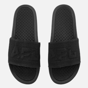 Athletic Propulsion Labs Men's Big Logo TechLoom Slide Sandals - Black