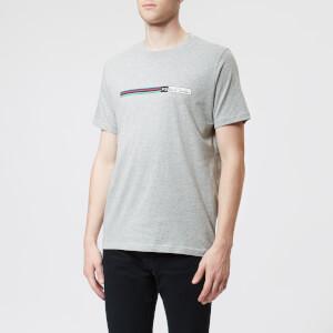 PS Paul Smith Men's Chest Logo Regular Fit T-Shirt - Grey