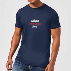Plain Lazy Codfather Men's T-Shirt - Navy