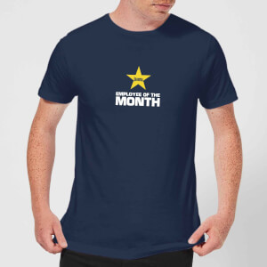 Plain Lazy Employee Of The Month Men's T-Shirt - Navy
