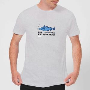 Plain Lazy for Cod's Sake Men's T-Shirt - Grey