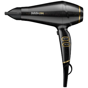 BaByliss PRO Keratin Lustre Hair Dryer – Black Shimmer