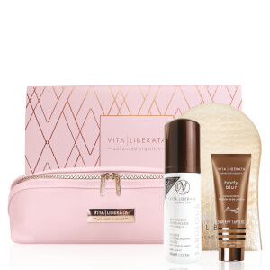 Vita Liberata Fabulous Dark Mousse Set - Pink Bag (Worth £53.50)