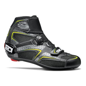 Sidi Zero Gore Road Shoes - Black/Yellow