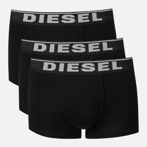 Diesel Men's Damien Three Pack Boxer Shorts - Black