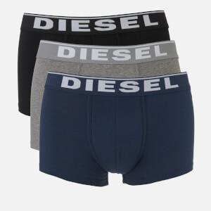 Diesel Men's Damien Three Pack Boxer Shorts - Black/Grey/Navy