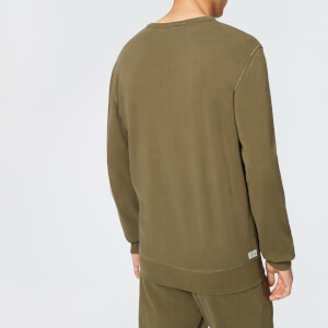 Diesel Men's Willy Sweatshirt - Khaki: Image 2