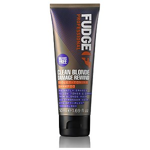 Clean Blonde Damage Rewind Violet Toning Shampoo 50ml (Travel Size)