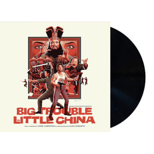 Big Trouble In Little China - Original Motion Picture Soundtrack 2XLP (Black Vinyl)