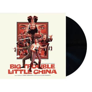 BO Vinyle Les Aventures de Jack Burton dans les griffes du mandarin - Édition 2LP (Vinyle Noir)