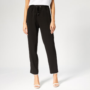 Emporio Armani Women's Casual Trousers - Black