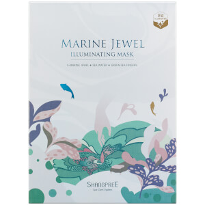 SHANGPREE Marine Jewel Illuminating Mask 30 ml (Σετ 5 τεμαχίων)