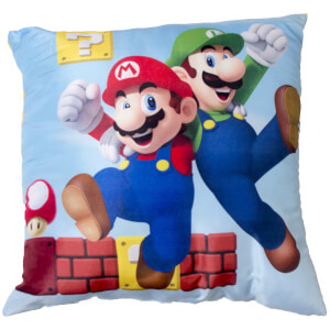 Mario Gang Square Cushion