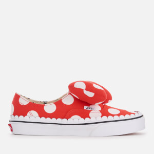Vans Women's Disney Minnie's Bow Authentic Trainers - True White
