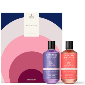 Crabtree & Evelyn 'Funky Florals' Body Wash Duo (Worth £32.00)