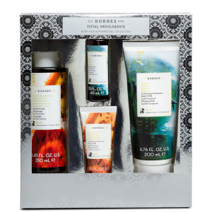 KORRES Total Indulgence Bergamot Pear and Guava Body Milk and Shower Gel Collection