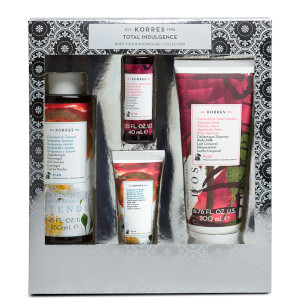 KORRES Total Indulgence Bergamot Jasmine and Japanese Rose Body Milk and Shower Gel Collection