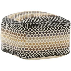 Premier Housewares Bosie Inca Pouffe - Cotton Cover