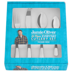 Jamie Oliver 24 Piece Everyday Cutlery Set