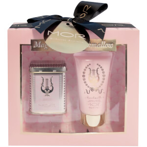 MOR Magnificent Marshmallow: Little Luxuries Marshmallow Soapette 60g & Hand Cream 50ml