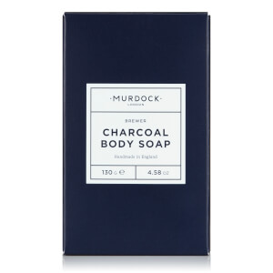 Murdock London Charcoal Body Soap mydło do ciała z węglem 130 g