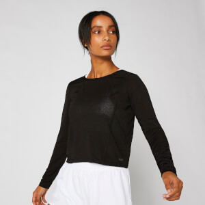 Dry-Tech Long-Sleeve Top - Black