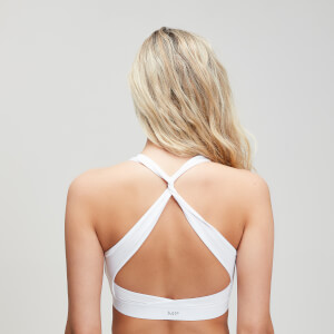 MP Power Cross Back Sports Bra - White