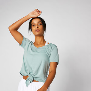 Myprotein Twist Short Sleeve T-Shirt - Seafoam