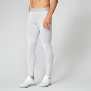 Myprotein Sculpt Seamless Tights - Silver