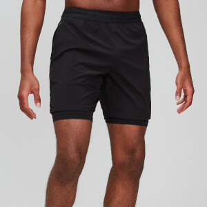 Essentials Training 7 Inch Shorts - Black