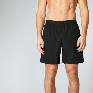 Power Shorts 7 Inch - Black