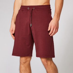 Myprotein Form Sweat Shorts - Oxblood