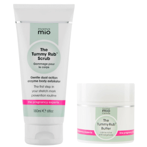 Mama Mio Stretch Mark Prevention Duo (Scrub + Butter) (Worth £41.50)
