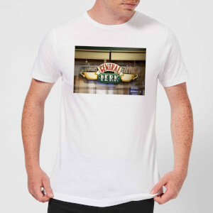 Friends Central Perk Coffee Sign Men's T-Shirt - White