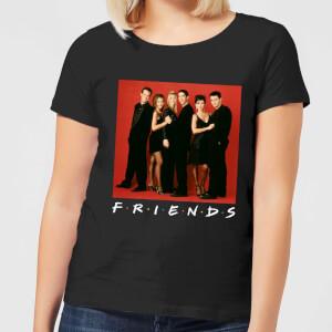 Friends Character Pose Damen T-Shirt - Schwarz