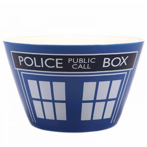Doctor Who Time Lord Bowl