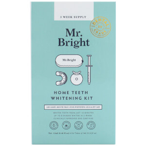 Mr. Bright Whitening Kit with Zip Case zestaw do wybielania zębów z etui