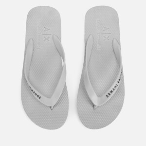 Armani Exchange Men's Flip Flops - Alloy