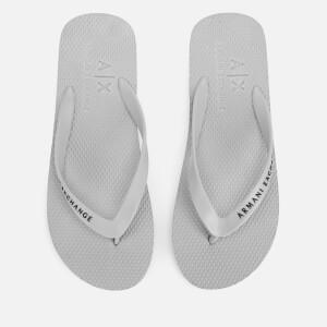 Armani Exchange Men's Flip Flops - Alloy