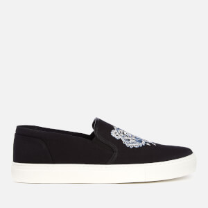 KENZO Men's K-Skate Slip-On Trainers - Black
