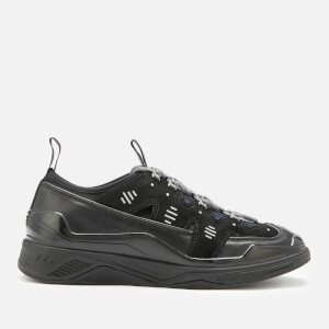 KENZO Men's Klimb Leather Runner Style Trainers - Black