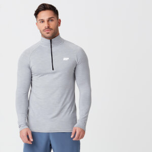 Men's Performance 1/4 Zip Top - Grey