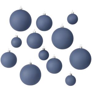 Broste Copenhagen Ammos Baubles - Orion Blue